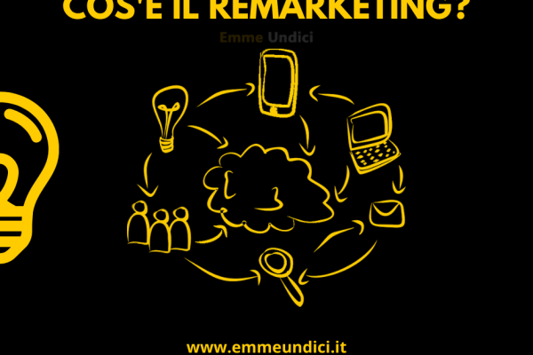 Il remarketing è un termine emerso come strategia di marketing online negli ultimi anni. Ma che cos'è il remarketing? Scopriamolo insieme.